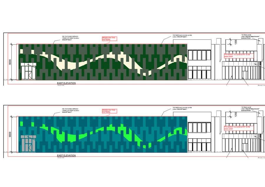 Inscrição nº 27 do Concurso para Design a new wall panel (2D) for commercial warehouses