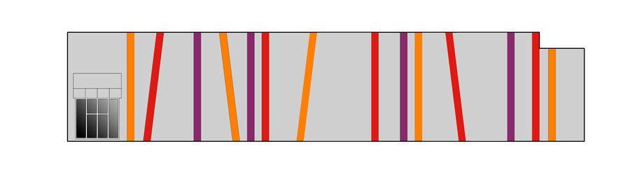 Inscrição nº 24 do Concurso para Design a new wall panel (2D) for commercial warehouses