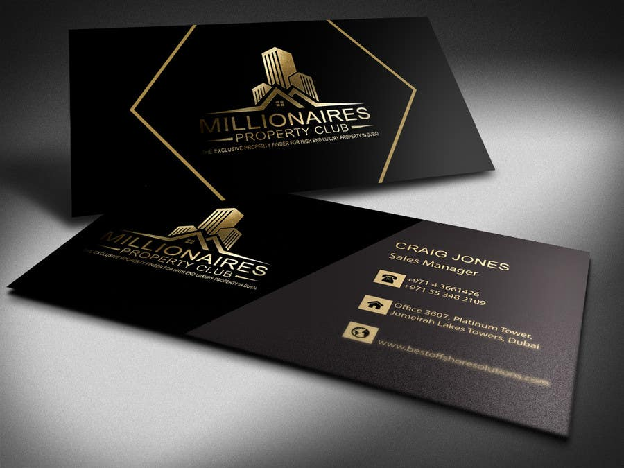 Design some business cards for my real estate business freelancer 7 for design some business cards for my real estate business by shahdj39 reheart Choice Image