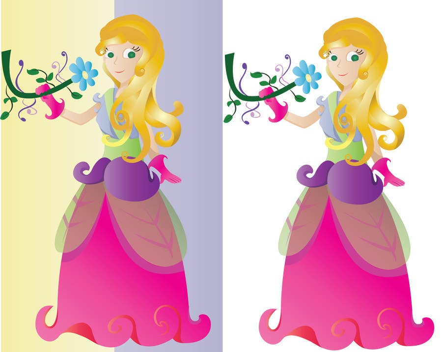 #36 for Illustrate a princess OR a vehicle by swati14