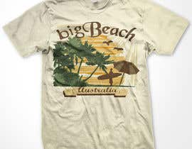 #89 para Tshirt design for Big Beach por WendyRV