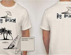 nº 76 pour Tshirt design for Big Beach par gomsee