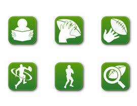 #7 para Design some Icons for a Football Mobile Application por raikulung