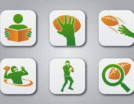 #16 para Design some Icons for a Football Mobile Application por raikulung