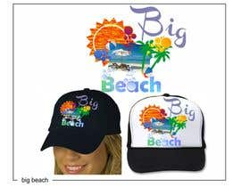 #42 para Baseball Cap Design for Big Beach por zackushka