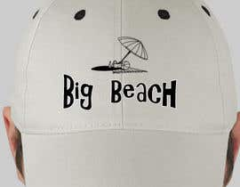 #22 para Baseball Cap Design for Big Beach por gomsee