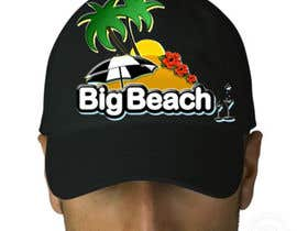 #20 para Baseball Cap Design for Big Beach por Louutje