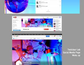 #16 untuk Design YouTube header, Twitter background, G+header, Facebook cover photo, profile photo and tabs - repost oleh proxlservice