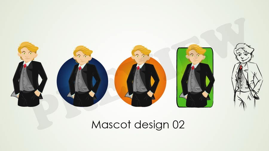 #6 for Mascot or character that has multinational outfit .. by mani15