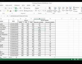 nº 14 pour Mengisikan sebuah Lembar Kerja dengan Data par julmawan