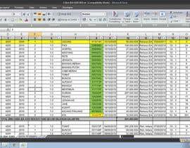 Nro 42 kilpailuun Mengisikan sebuah Lembar Kerja dengan Data käyttäjältä RoniYuandaS