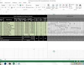 #54 cho Mengisikan sebuah Lembar Kerja dengan Data bởi RURY18