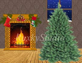 #3 para I need some Graphic Design for a Christmas room por RuxkyStudio