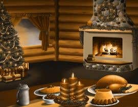 #13 para I need some Graphic Design for a Christmas room por Cornman