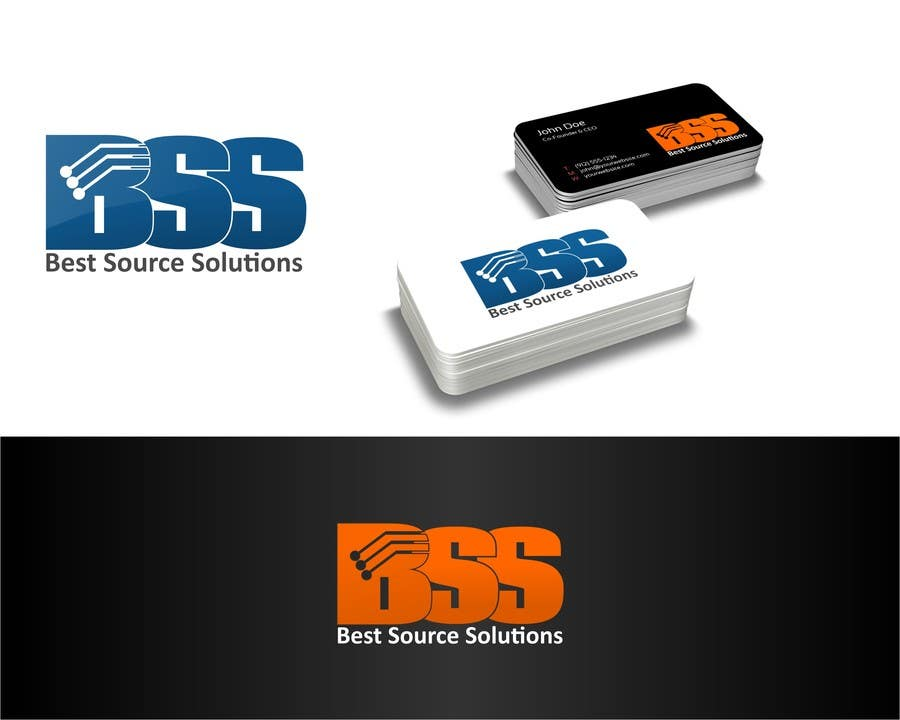 #92 for Best Source Solutions - logo for cards and web by rostovniki