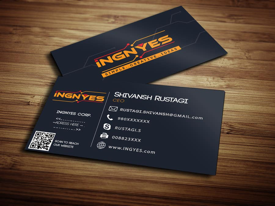 Entry #38 by JasonRusty for Business Cards for innovative consumer ...