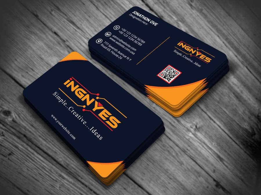 Entry #22 by nasir34 for Business Cards for innovative consumer ...
