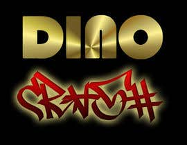 nº 84 pour Logo for Dino Crash (DJ) par martiald