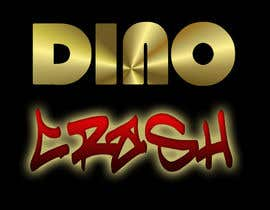 nº 85 pour Logo for Dino Crash (DJ) par martiald