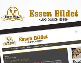 #14 para Design eines Logos for website www.essenbildet.de por bjidea