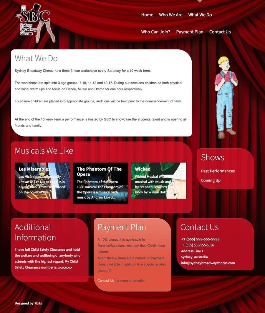 Bài tham dự cuộc thi #                                        30                                      cho                                         www.sydneybroadwaychorus.com