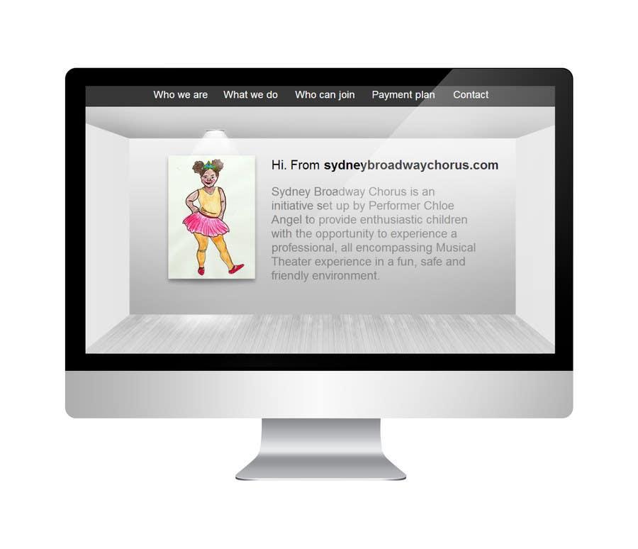 Bài tham dự cuộc thi #                                        7                                      cho                                         www.sydneybroadwaychorus.com