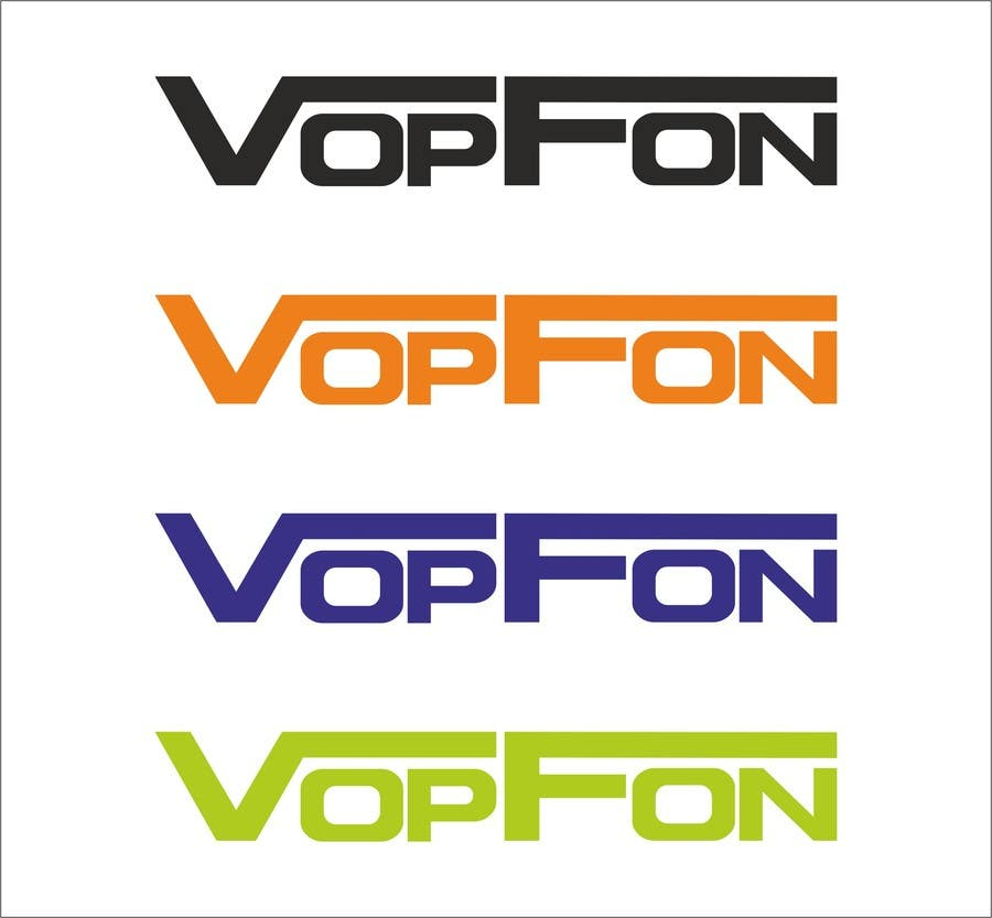 Proposition n°                                        164                                      du concours                                         Design a Logo for VOPFON