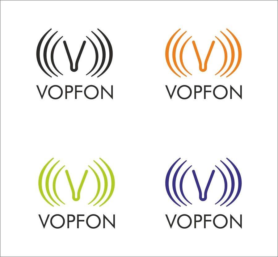Proposition n°                                        166                                      du concours                                         Design a Logo for VOPFON