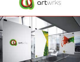 #163 untuk Logo & Favicon for an online art gallery (show off your artwork) oleh digitalmind1