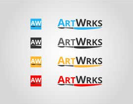 #98 for Logo & Favicon for an online art gallery (show off your artwork) af pkapil