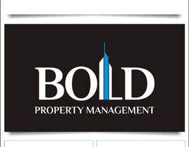 nº 378 pour Logo for Bold Property Management par indraDhe