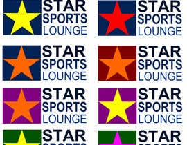 nº 60 pour STAR Sports Lounge-LOGO par paulik1000