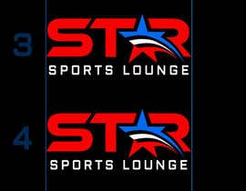 #51 para STAR Sports Lounge-LOGO por Psynsation