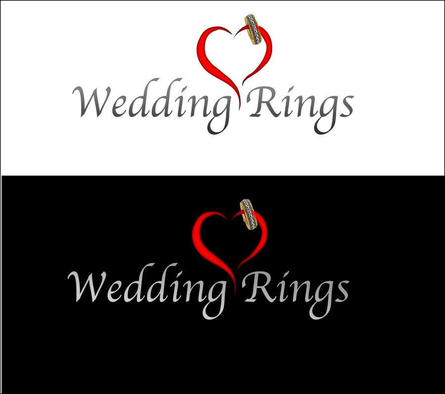 Contest Entry #                                        25                                      for                                         Logo Design for WeddingRings.net (yes, this is our company name)