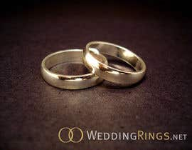 #44 para Logo Design for WeddingRings.net (yes, this is our company name) por santarellid