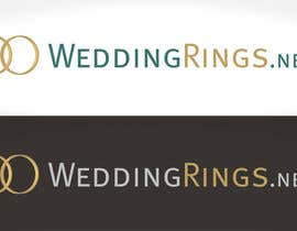 #43 para Logo Design for WeddingRings.net (yes, this is our company name) por santarellid