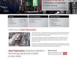 #38 for Design a Website Mockup for Utah Fabrication af kethketh