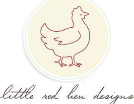 #10 para Design a Logo for Little Red Hen Designs por ahasth