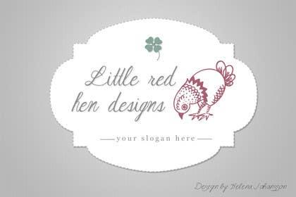 #57 for Design a Logo for Little Red Hen Designs by helenasdesign