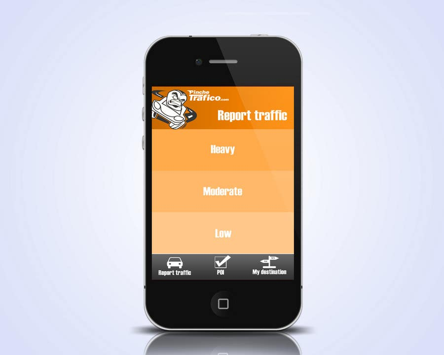 Contest Entry #                                        4                                      for                                         Graphic Design for Pinche trafico - mobile app design