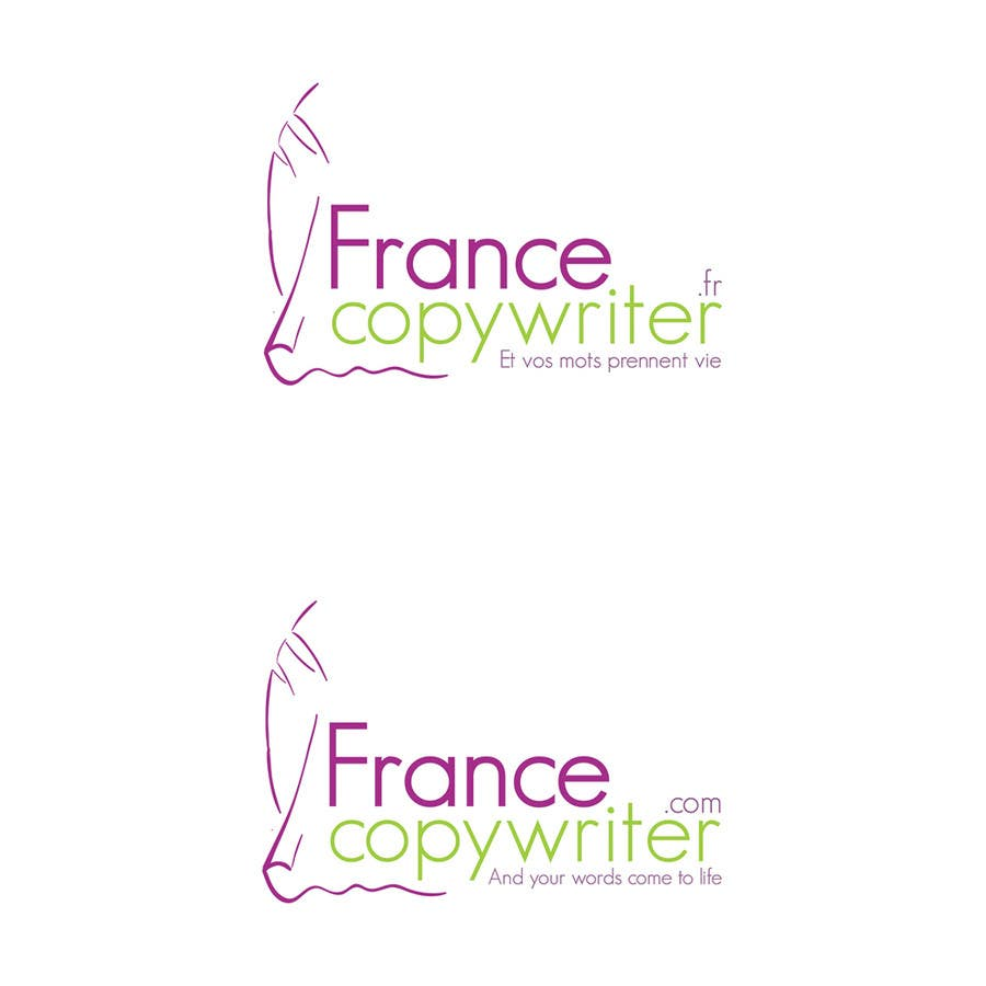 #59 for Require logo and business cards design for:  Francecopywriter (international logo) by Bauerol3