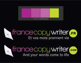#1 for Require logo and business cards design for:  Francecopywriter (international logo) af dannnnny85