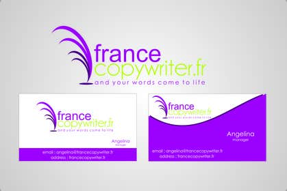 #61 for Require logo and business cards design for:  Francecopywriter (international logo) af eltorozzz