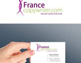 #55 para Require logo and business cards design for:  Francecopywriter (international logo) por smarttaste