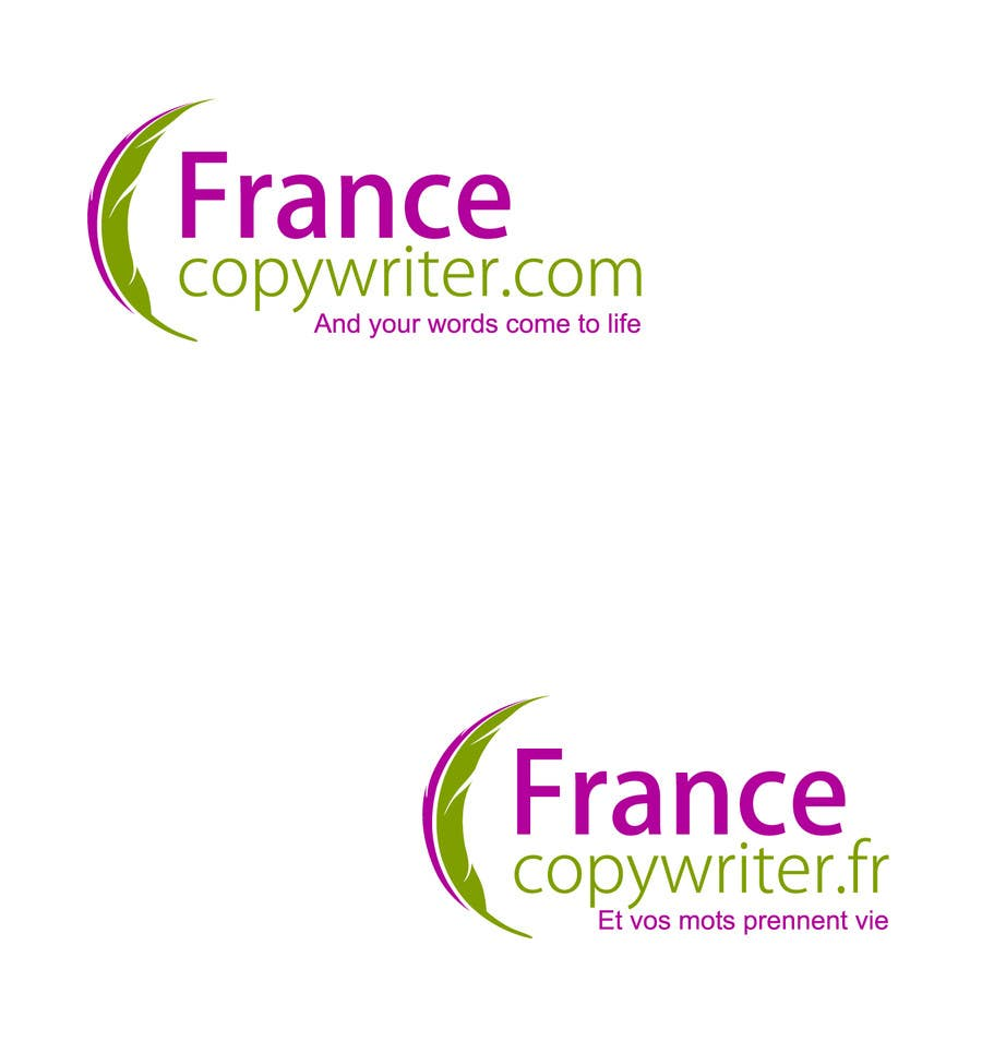 #89 for Require logo and business cards design for:  Francecopywriter (international logo) by smarttaste