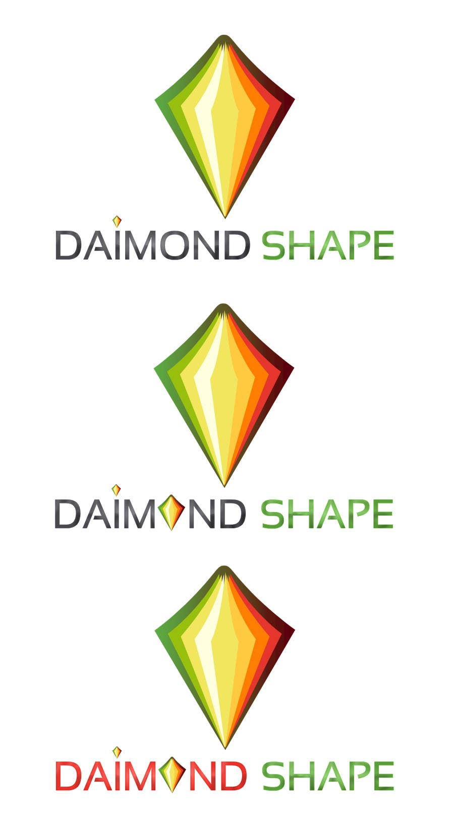 Inscrição nº 9 do Concurso para DiamondShape.com Logo & Header