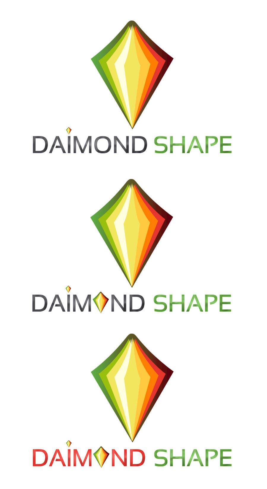Penyertaan Peraduan #9 untuk DiamondShape.com Logo & Header