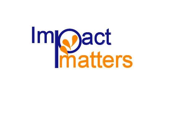 Penyertaan Peraduan #64 untuk Design a Logo for Impact Matters