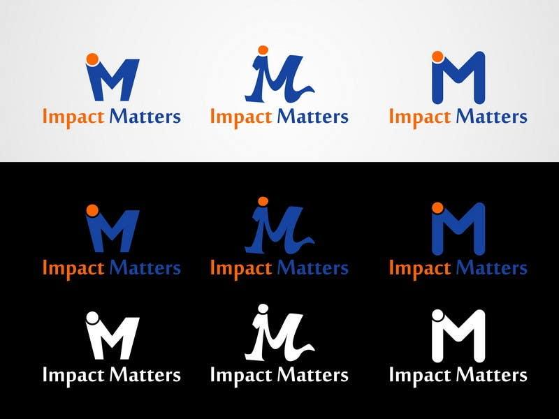 Penyertaan Peraduan #56 untuk Design a Logo for Impact Matters