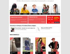 #10 cho HeritageOfScotland.com - online store graphic design. Functional mockup is ready. Probable job offer for three best designers. bởi kethketh